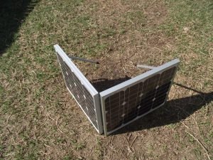 solar panels for camping