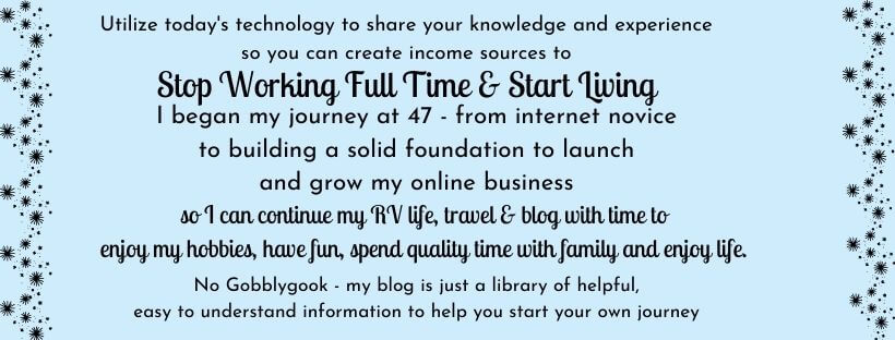 KerryAnn Myway – My RV Lifestyle Choice
